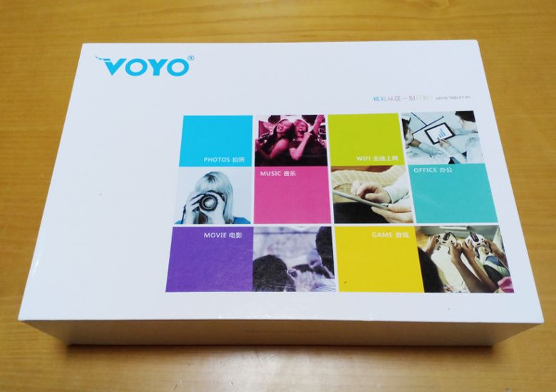 VOYO VBook A1 外箱