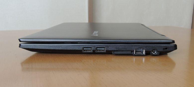 マウス LuvBook J 右側面
