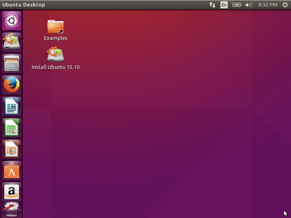 Ubuntu 画面1