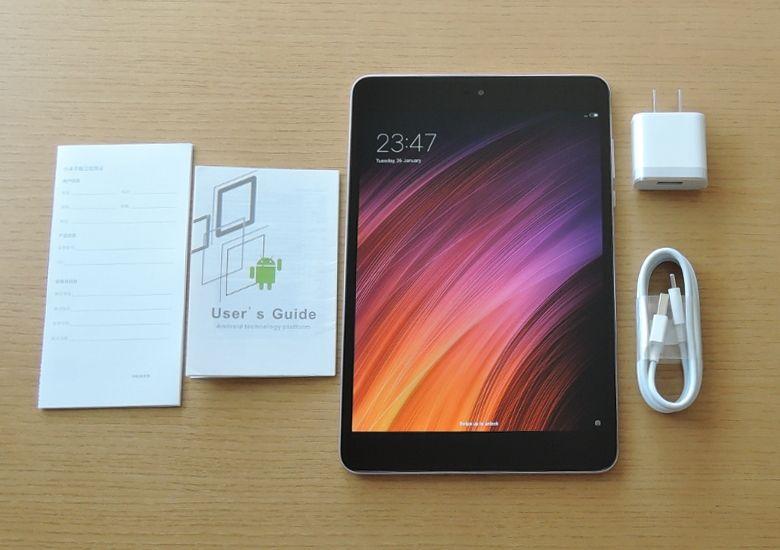 Xiaomi Mi Pad 3 同梱物