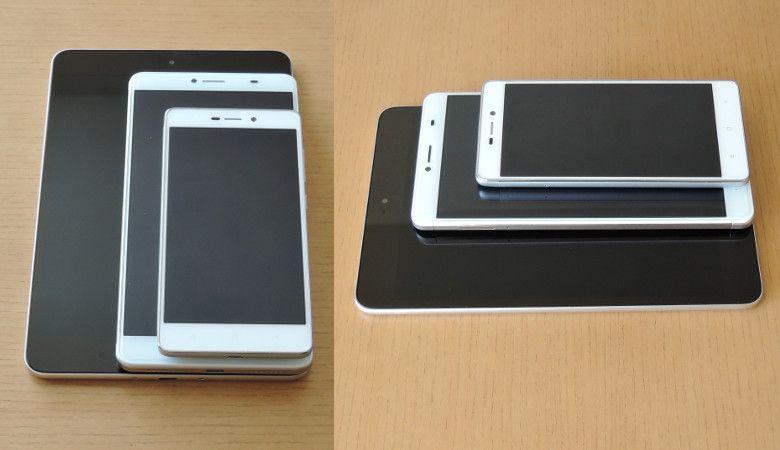 Xiaomi Mi Pad 3 サイズ感