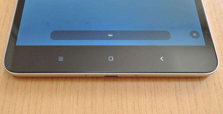 Xiaomi Mi Pad 3 センサーボタン