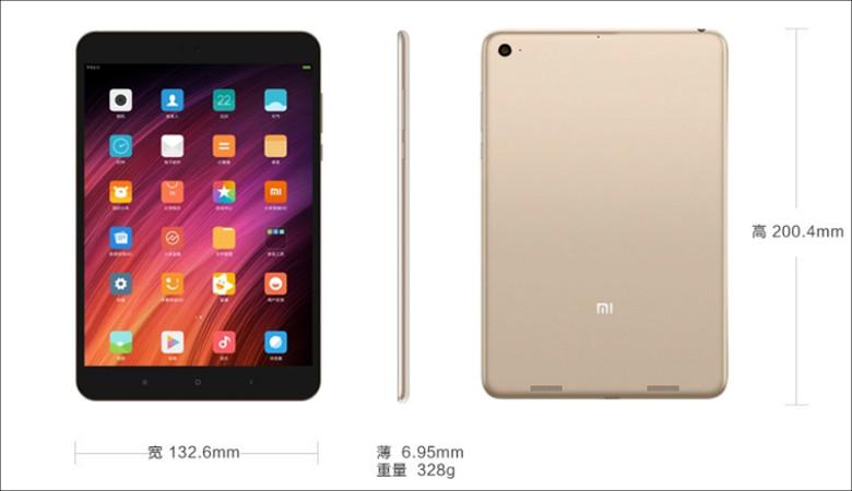 Xiaomi MiPad 3 サイズ感