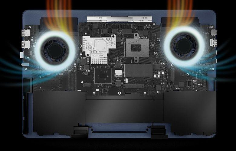 ASUS ZenBook Pro UX550VD/VE 冷却ファン
