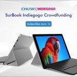 Chuwi SurBook ー 12.3インチ、Surfaceタイプの新作がINDIEGOGOへ!しかも激安みたいよ!