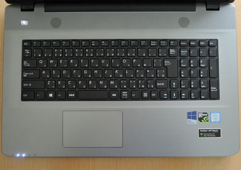 ドスパラ Critea VF-HGK キーボード