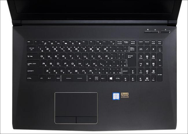 ドスパラ Critea VF-HGK1050 キーボード