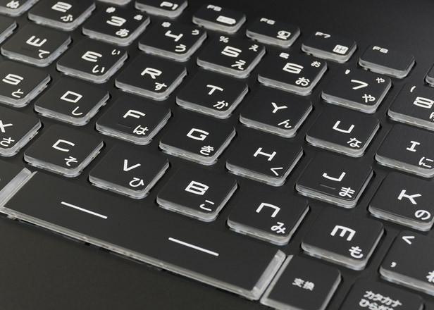 ドスパラ Critea VF-HGK1050 キーボード拡大