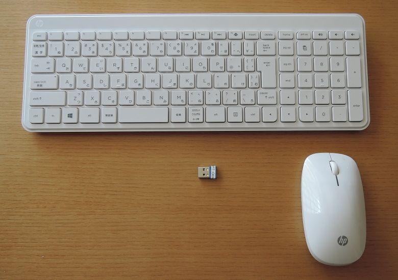 HP Pavilion 27-a200jp キーボードとマウス