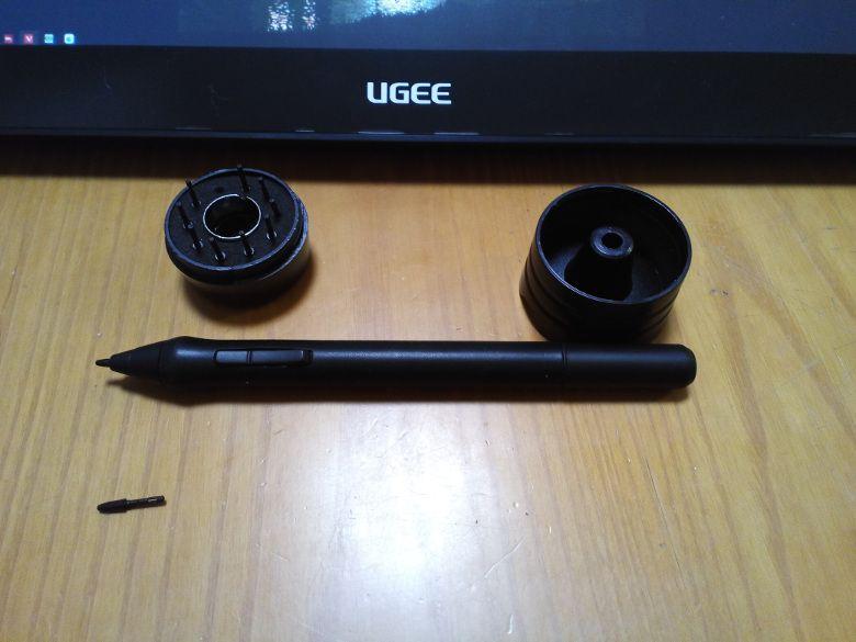 Ugee HK1560 ペンと替芯