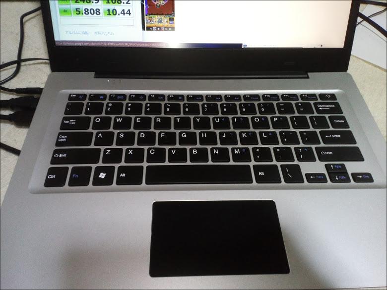 Jumper EZBook 3 ひらちょん キーボード品質