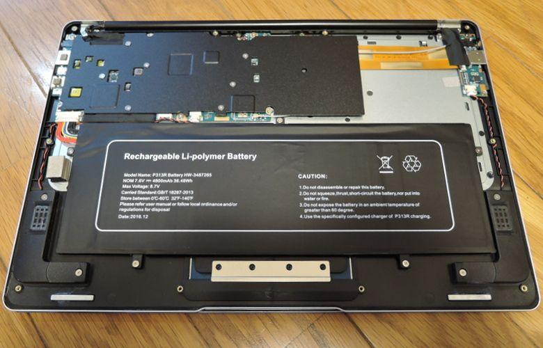 Jumper EZBook 3 Pro 開口2