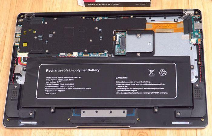 Jumper EZBook 3 Pro 開口1