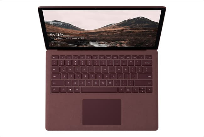 Microsoft Surface Laptop キーボード