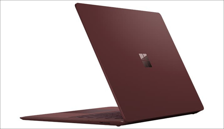 Microsoft Surface Laptop 背面