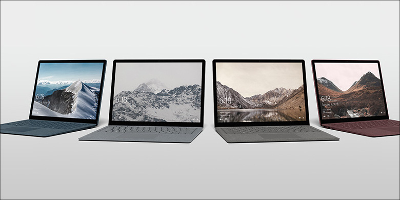 Microsoft Surface Laptop 筺体色