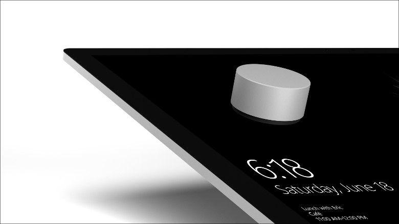 Microsoft Surface Studio Surface Dial