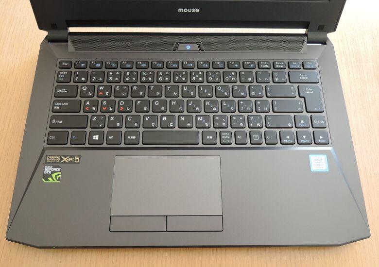 マウス NEXTGEAR-NOTE i4400GA1 キーボード