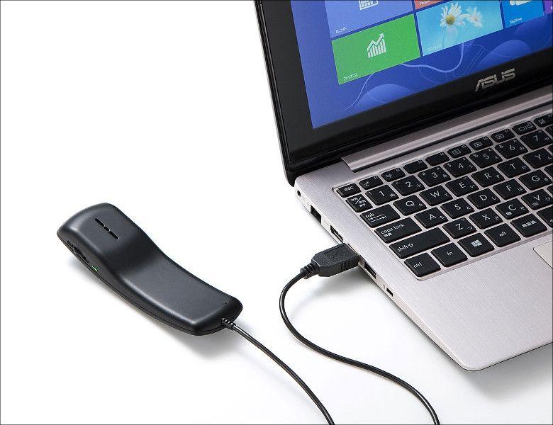 サンワサプライ  MM-HSU06BK PC接続