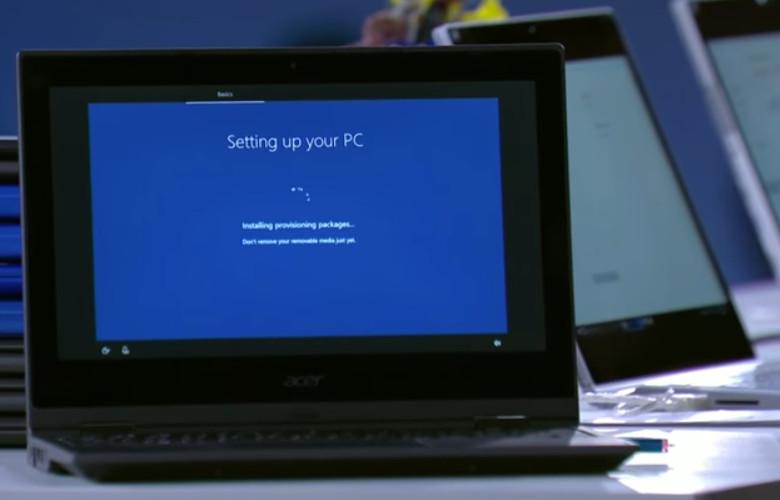 Windows 10 S セッティングの簡易化