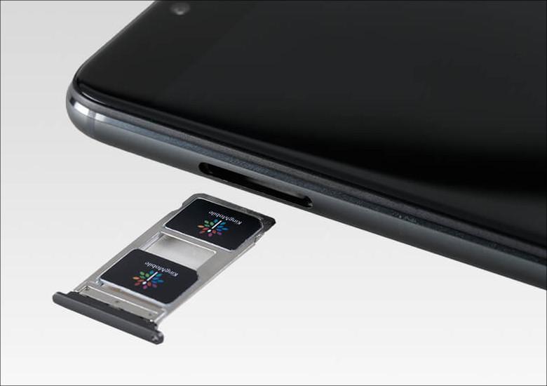 ヤマダ電機 EveryPhone DX SIMスロット