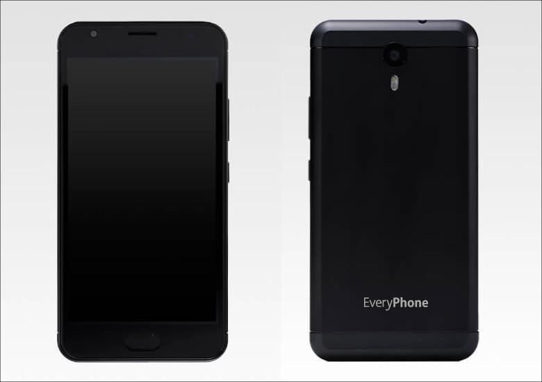 ヤマダ電機 EveryPhone PW ブラック