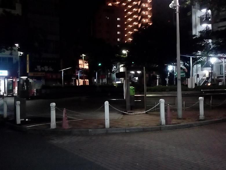 VOYO Q101 カメラテスト(夜間)