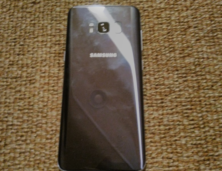 Galaxy S8 背面