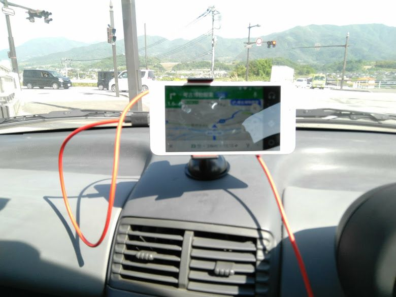Android Auto 自動車にセット