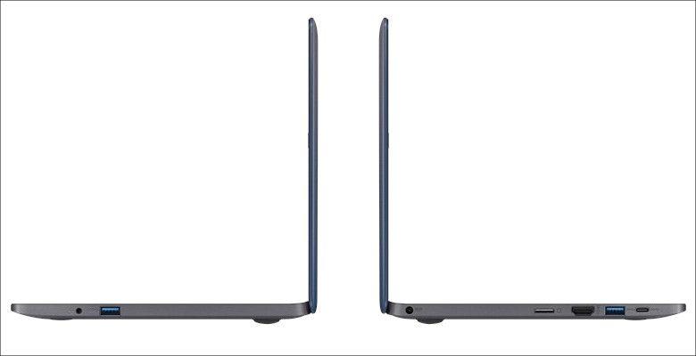 ASUS VivoBook E203NA 側面