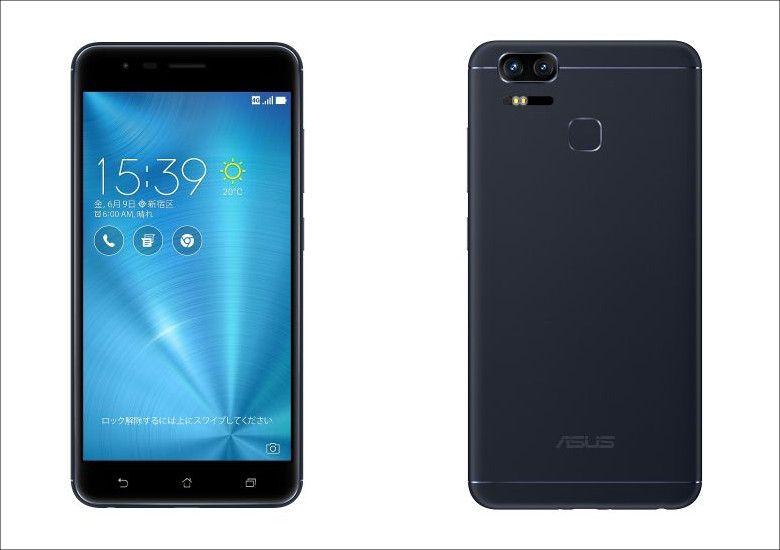 ASUS ZenFone Zoom S ネイビー・ブラック