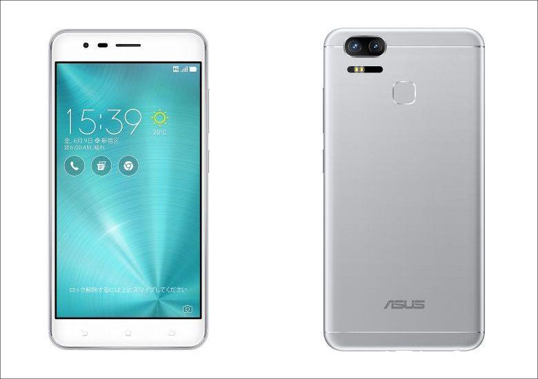 ASUS ZenFone Zoom S シルバー