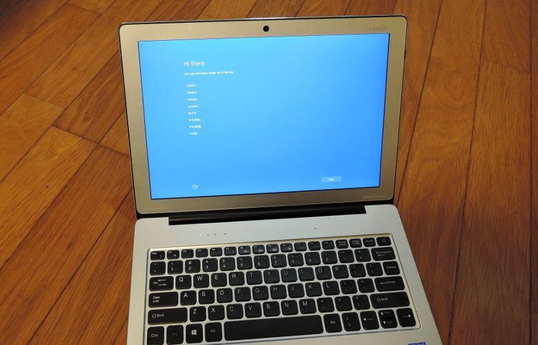 Chuwi LapBook 12.3 初期設定