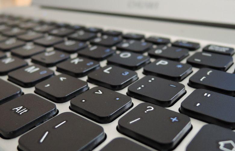 Chuwi LapBook 12.3 キーボード拡大