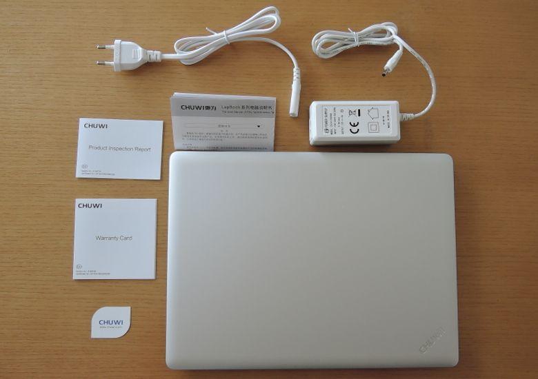 Chuwi LapBook 12.3 同梱物