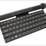 上海問屋 スピーカーごとクルクル巻けるキーボード -その名の通りのキーボードだけど、思ったよりキワモノ感なしw
