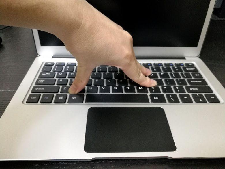 Jumper EZBook 3 Pro Rydeen キーボード強度