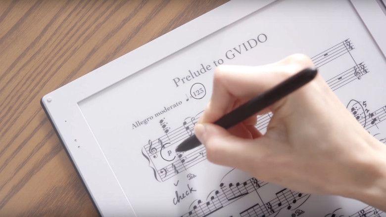 GVIDO 楽譜に書き込み