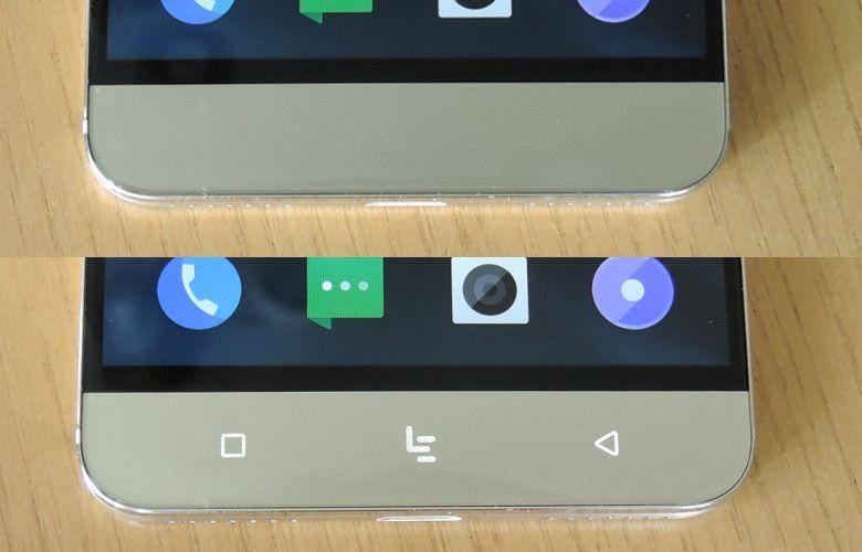 Leeco Le Pro 3 センサーボタン