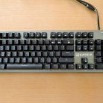 Mantistek GK2 - 低価格だけどしっかりメカニカル!な中華キーボードを試してみた(実機レビュー)
