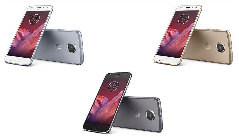 Motorola Moto Z2 Play カラバリ