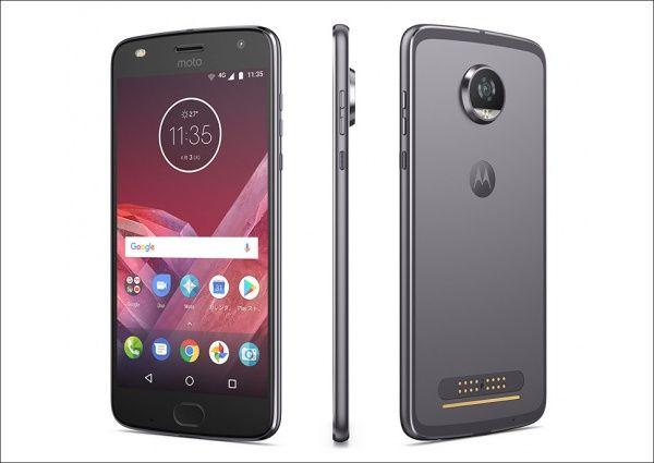 Motorola Moto Z2 Play 筺体