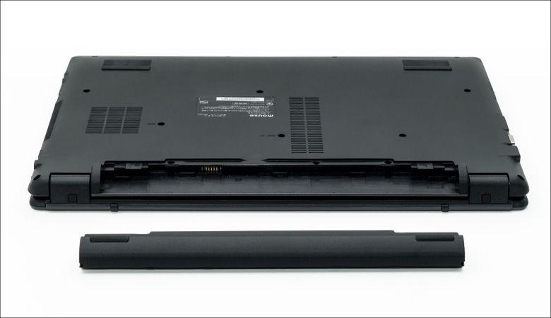 マウス m-Book B503E 着脱バッテリー