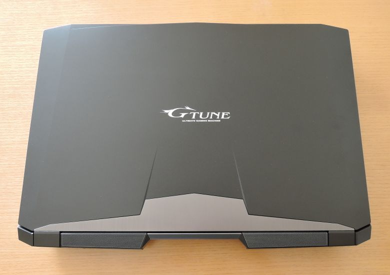 マウス NEXTGEAR-NOTE i7901 天板