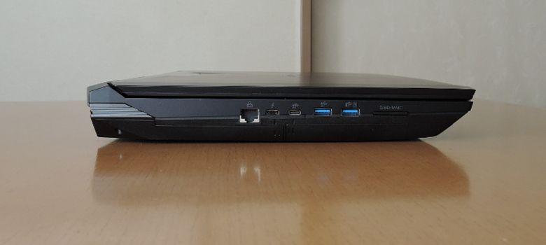 マウス NEXTGEAR-NOTE i7901 左側面