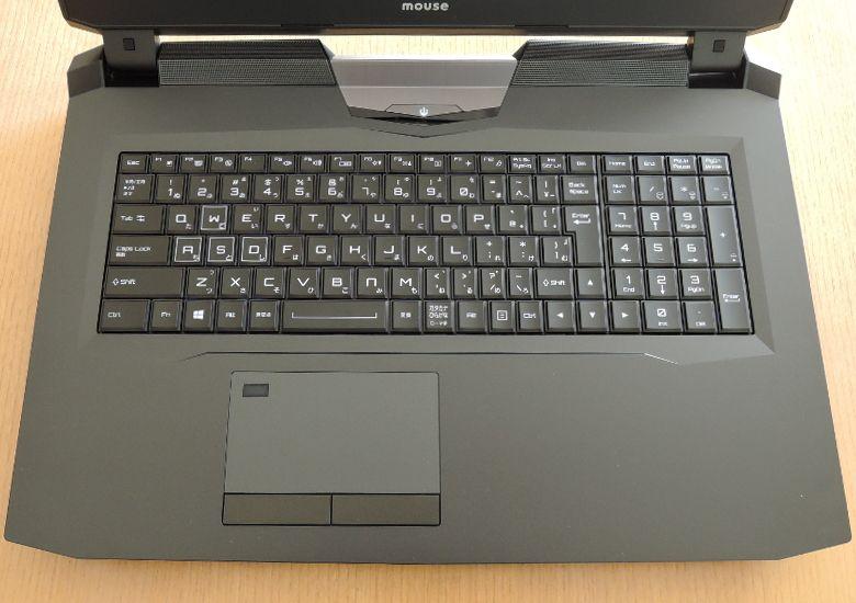 マウス NEXTGEAR-NOTE i7901 キーボード