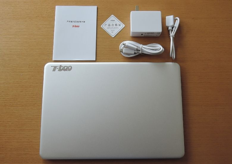 T-bao Tbook Air 同梱物