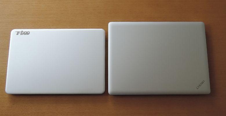 T-bao Tbook Air Chuwi Lapbook 12.3と1