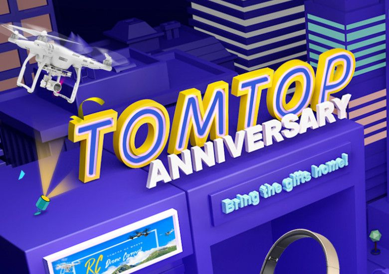 TOMTOPでセール