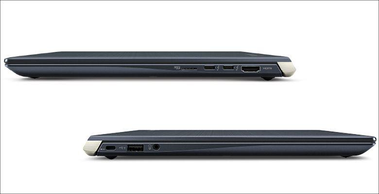 東芝 dynabook UX53 側面